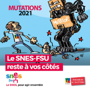 Stage syndical : Mutations intra-académiques 2021